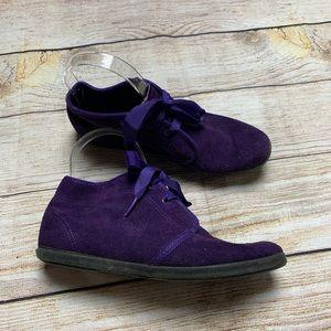 Keds essentials purple booties 7